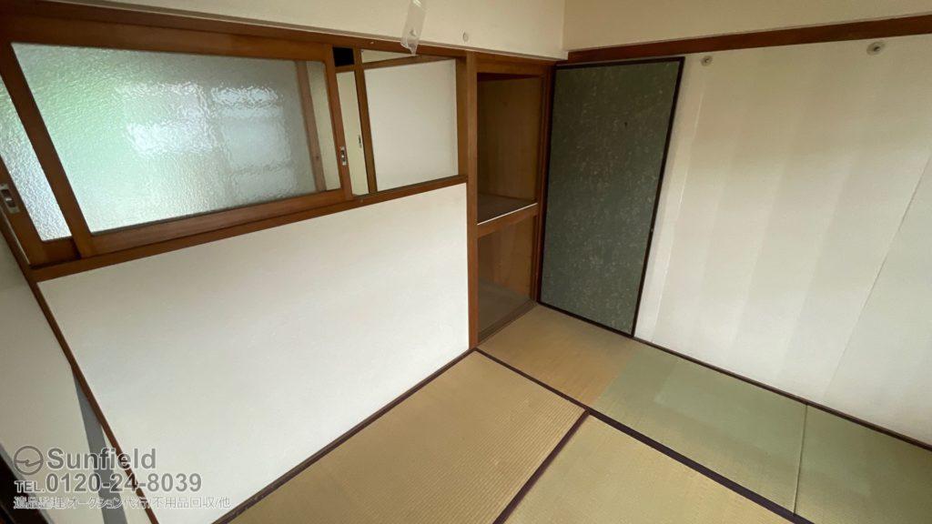 東京都東村山市:遺品整理のご依頼(集合住宅3LDK)